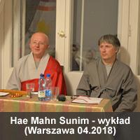 Hae Mahn Sunim 04.2018