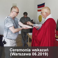 Ceremonia wskazań 06.2019